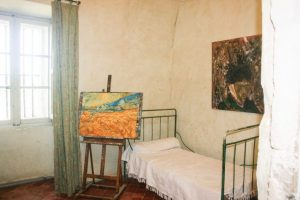 Van Gogh's room as it might have looked then