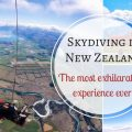 Skydiving in Wanaka New Zealand