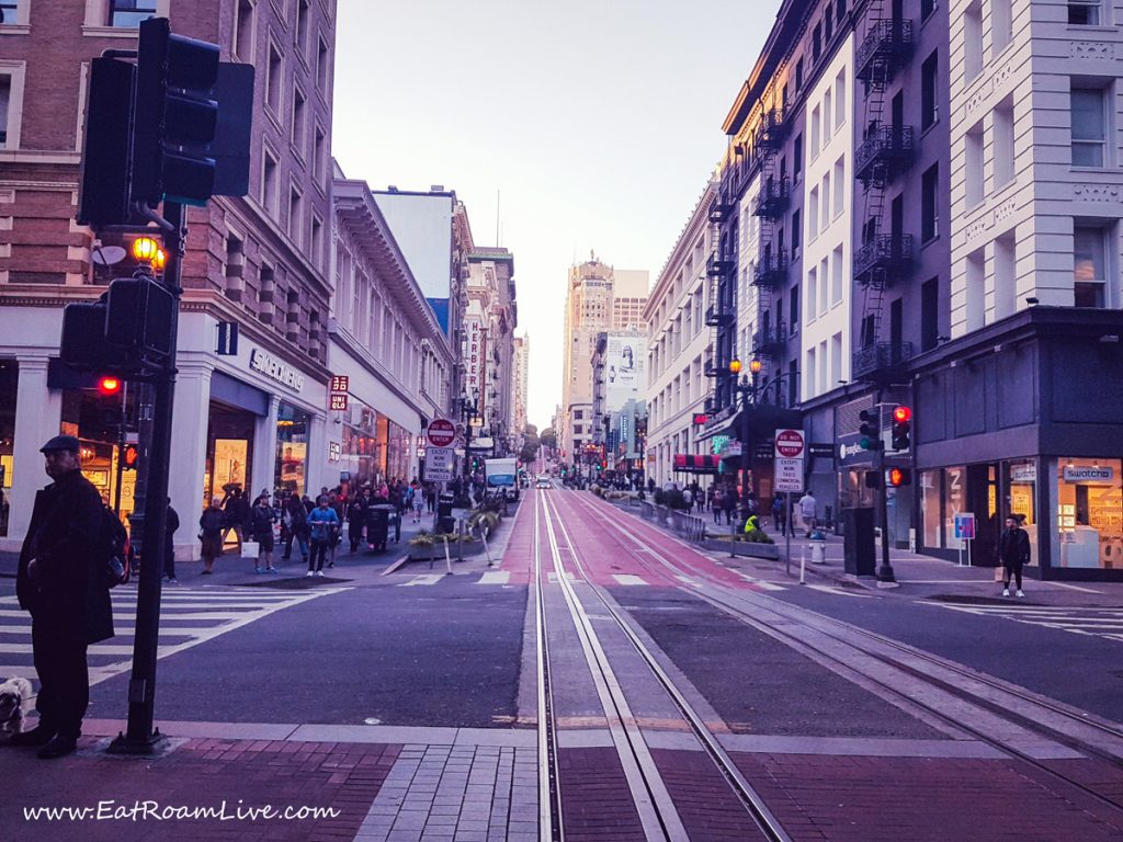 Beautiful Streets in San Francisco