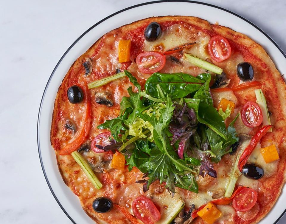 Best Vegetarian and vegan pizzas in Singapore
