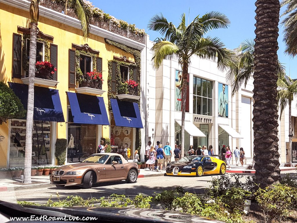 Getting a feel of the luxury at Rodeo Drive