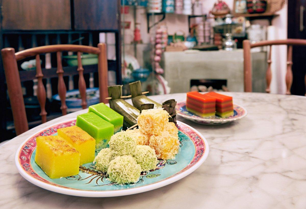 Peranakan Kuehs - Best Local Vegetarian Vegan Dishes Singapore
