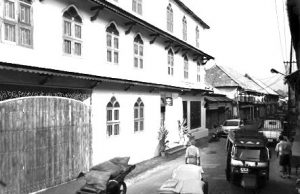 An old image of the museum hotel