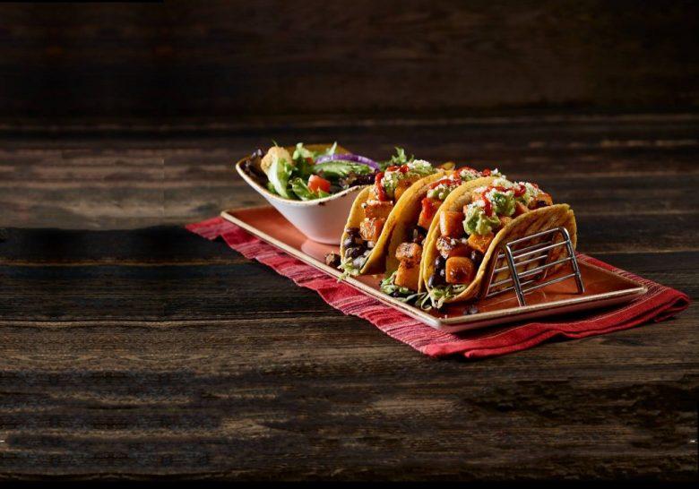 Sweet Potato and Black Bean Tacos (Image credit: Hard Rock Cafe Singapore, via Facebook)
