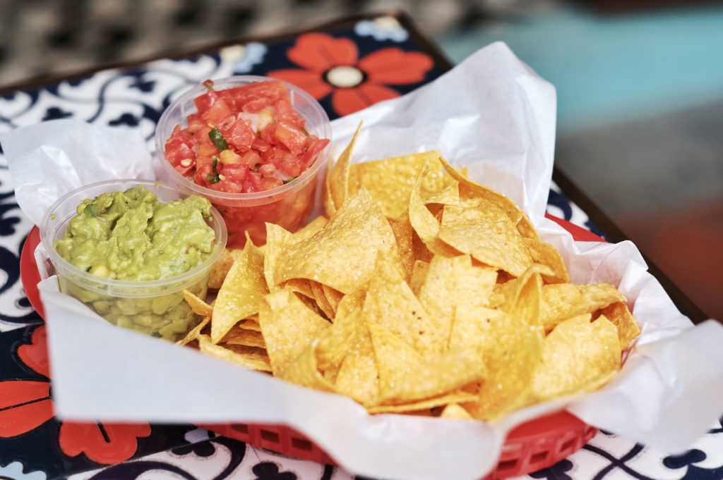 Muchachos: Chips with Salsa/Guacamole