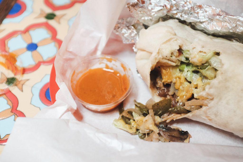 Muchachos, Vegetariano Burrito