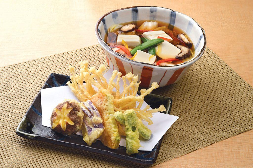 Shimbashi Soba vegetarian dining review