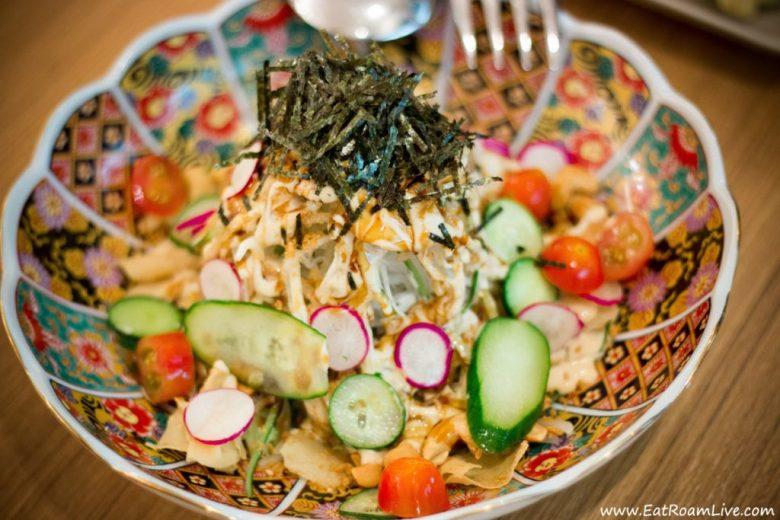 Radish Salad at Teng Bespoke Japanese Vegetarian