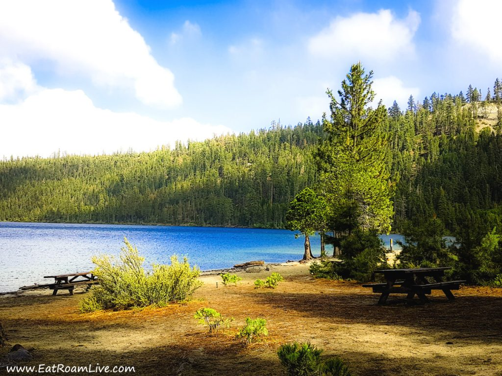 The stunning location of Vikingsholm, South Lake Tahoe with Kids