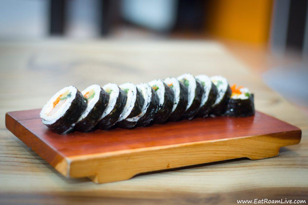 Korean Rice Rolls at Boneless Kitchen