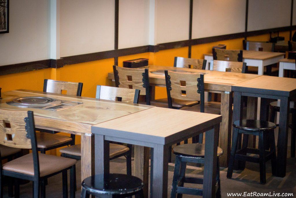 Boneless Kitchen Korean Vegetarian - Table Seating