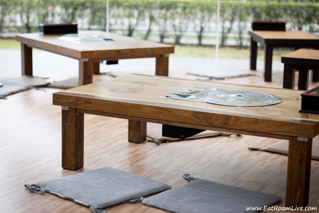 Boneless Kitchen Korean Vegetarian - Floor Seating