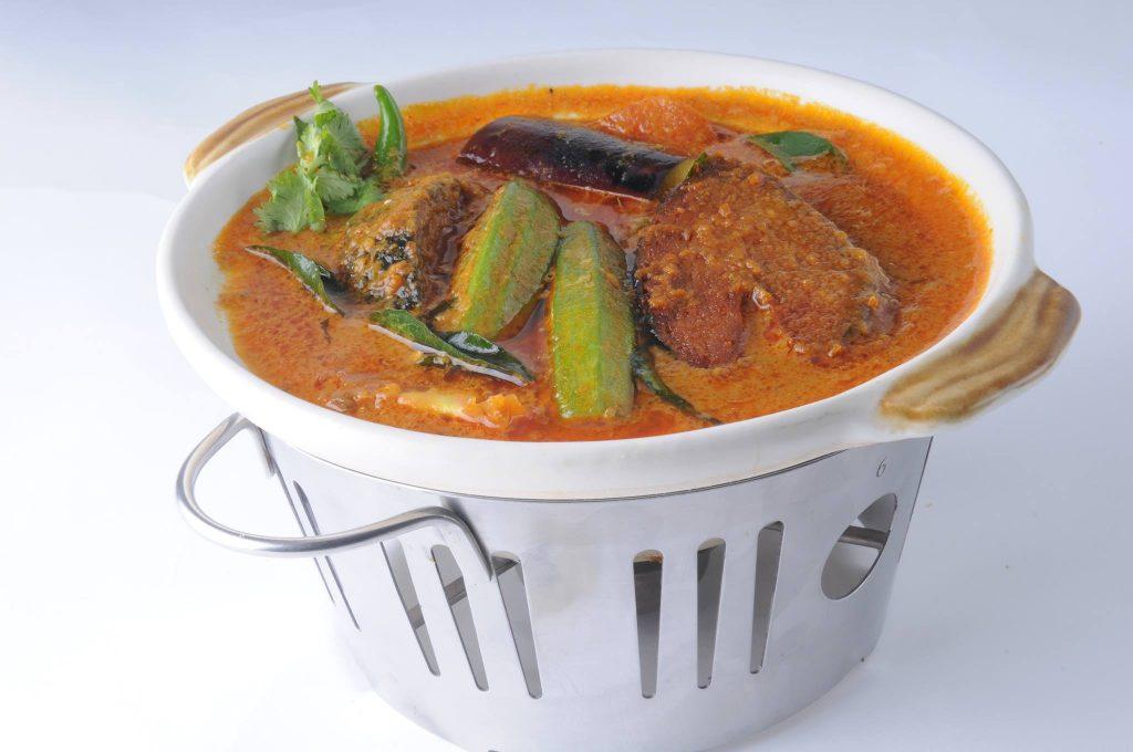 Vegetarian Fish Head Curry