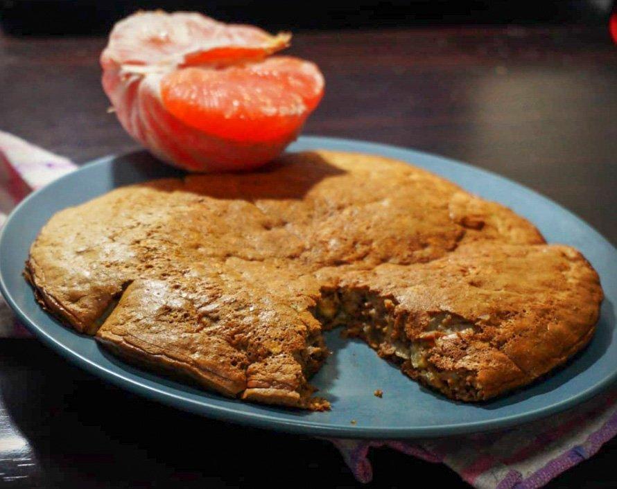 Vegetarian Recipe: Choco Banan Pancake Grande