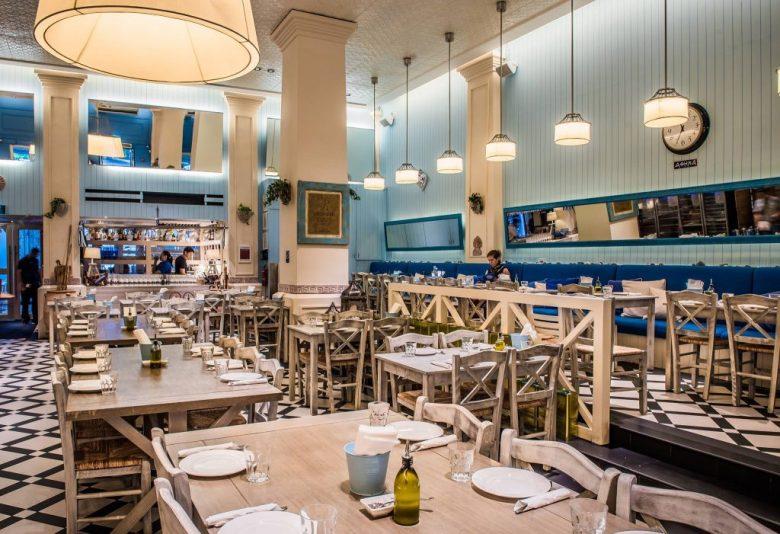 Blu Kouzina Greek Restaurant, Vegetarian, Singapore