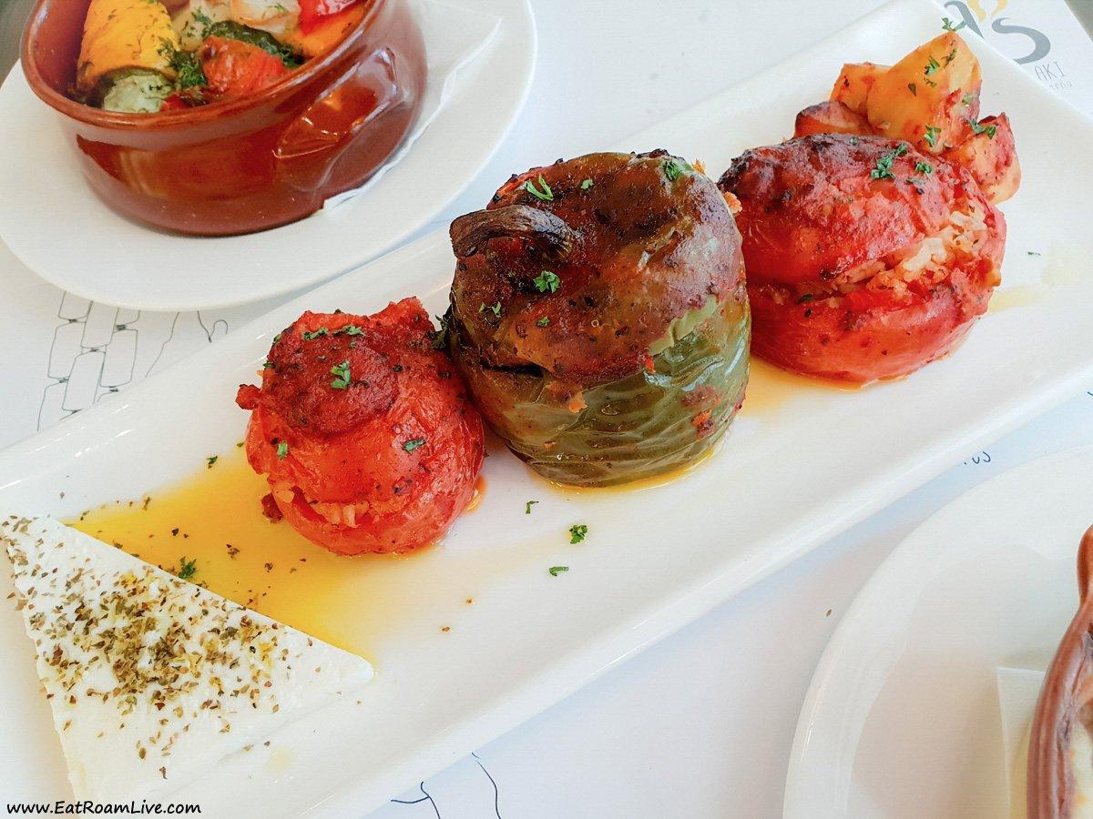 Bakalaki Greek Restaurant Singapore Vegetarian & Vegan Review