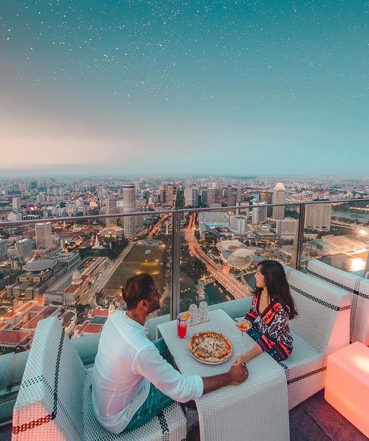 1-Altitude, Singapore, Roof top bar