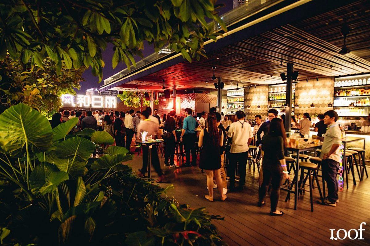 Loof, Roof Top Bar, night club, Singapore,