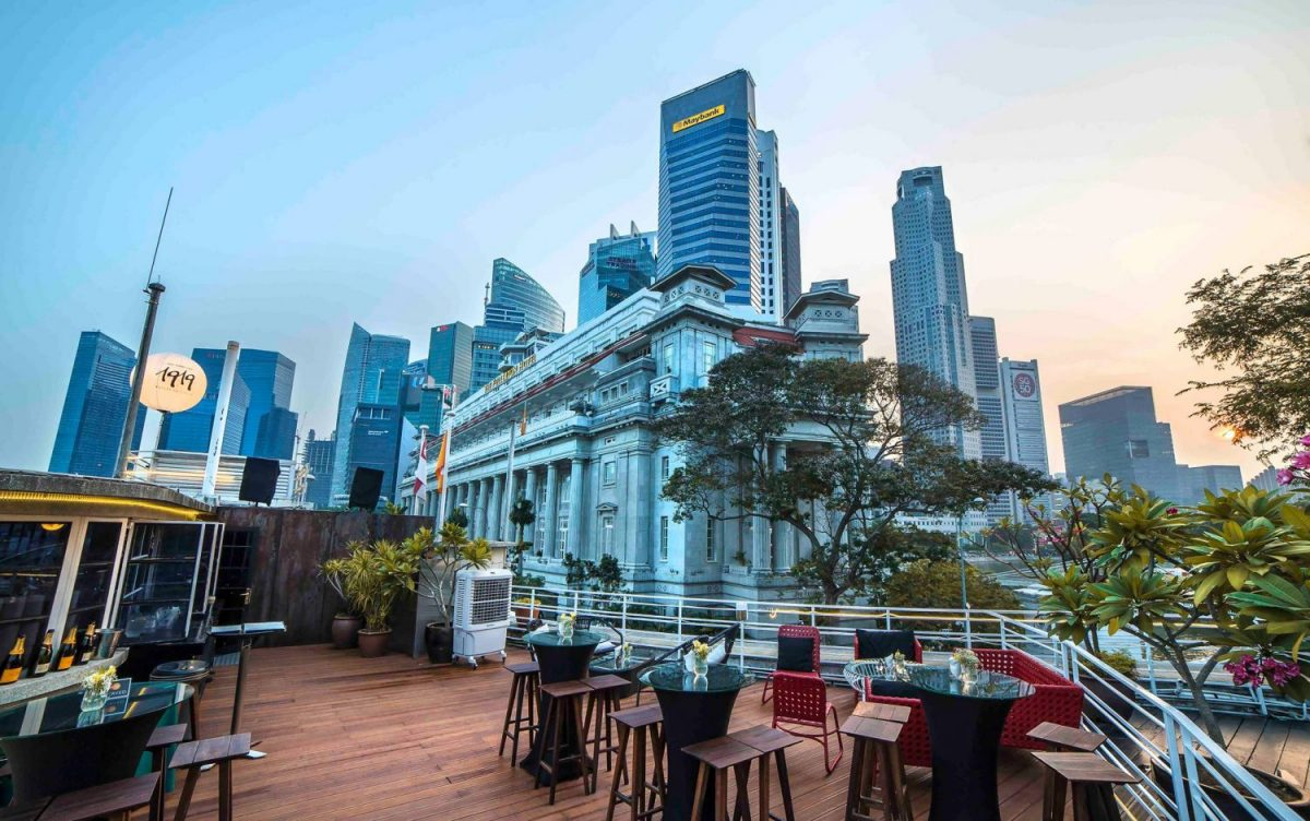 Waterboat House, Roof Top Bar, night club, Singapore