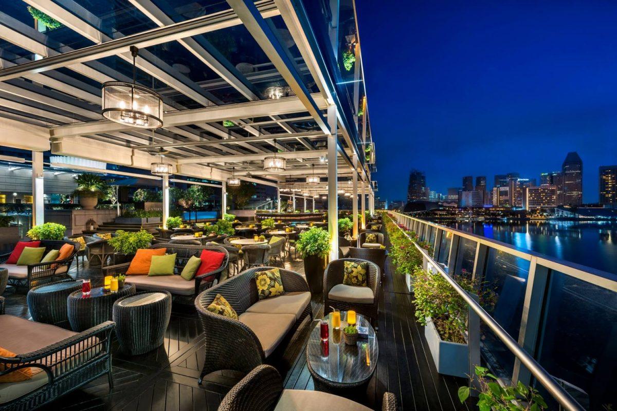 Lantern, Roof Top Bar, night club, Singapore