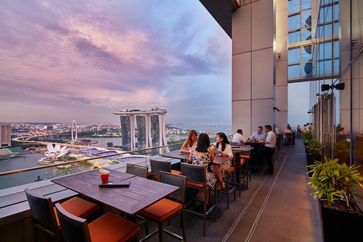 LeVel33, Roof Top Bar, night club, Singapore
