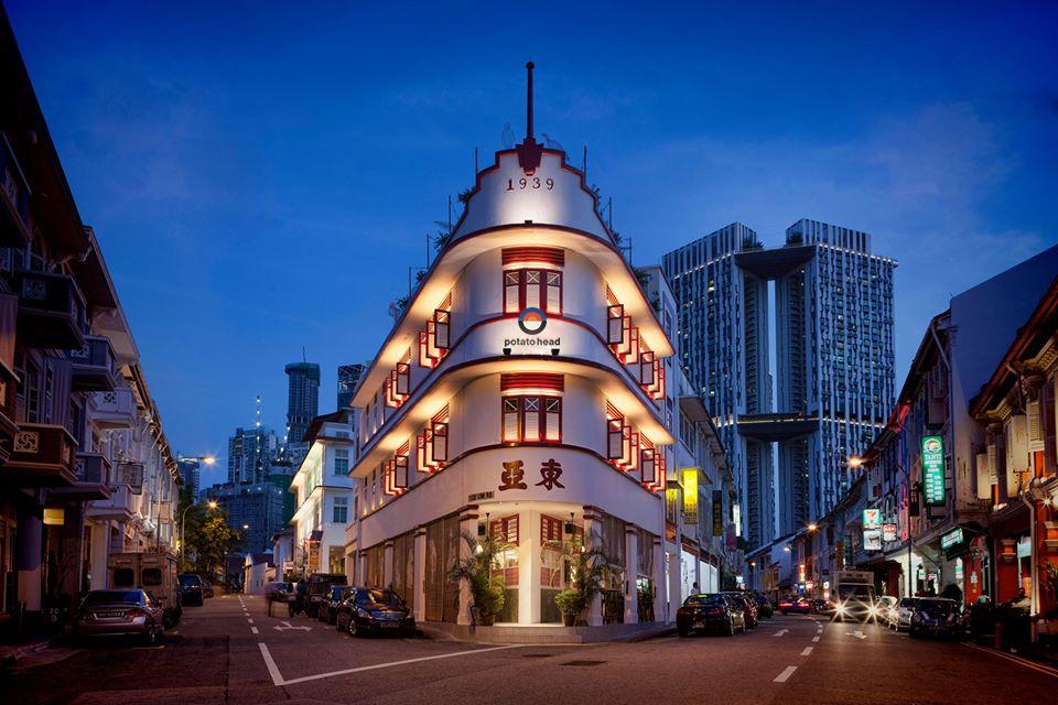 Potato Head Rooftop, Roof Top Bar, night club, Restaurant, Singapore