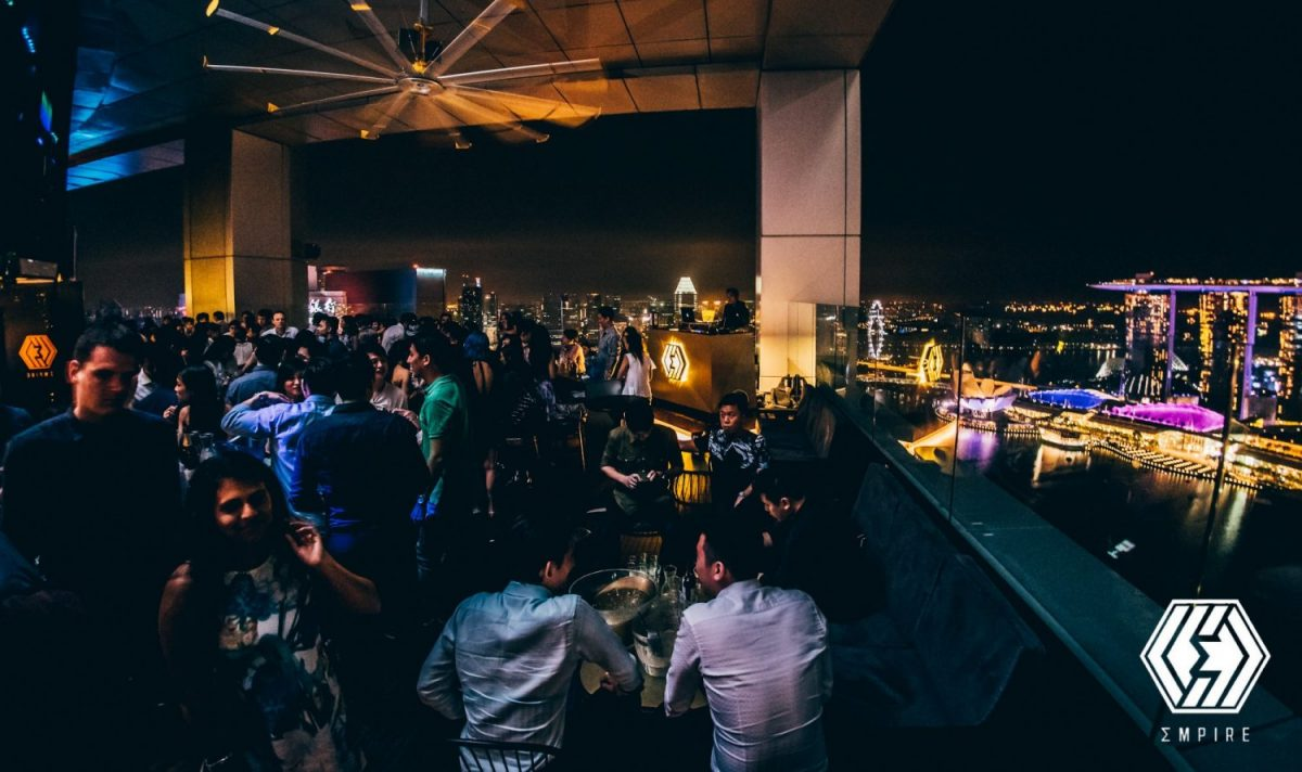 Empire Lounge, Singapore Rooftop