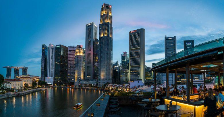 Southbridge, Roof Top Bar, night club, Singapore