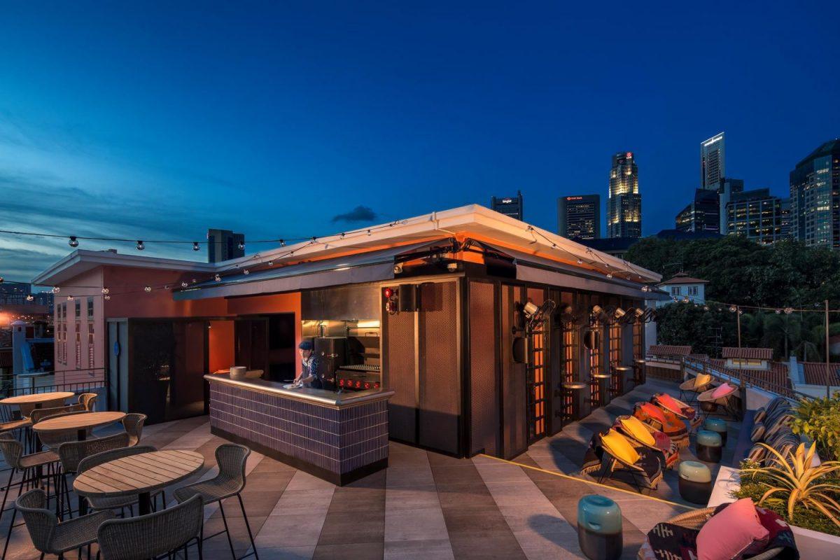 Tiger's Milk, Roof Top Bar, night club, Singapore