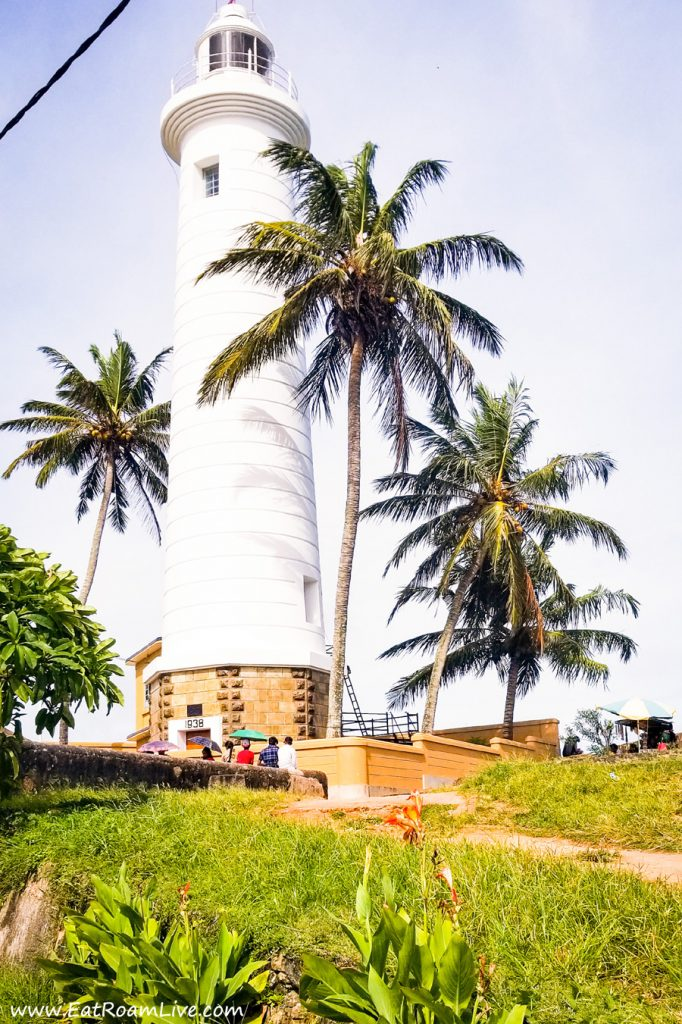 Lighthouse at Galle, Sri Lanka with Kids Itinerary