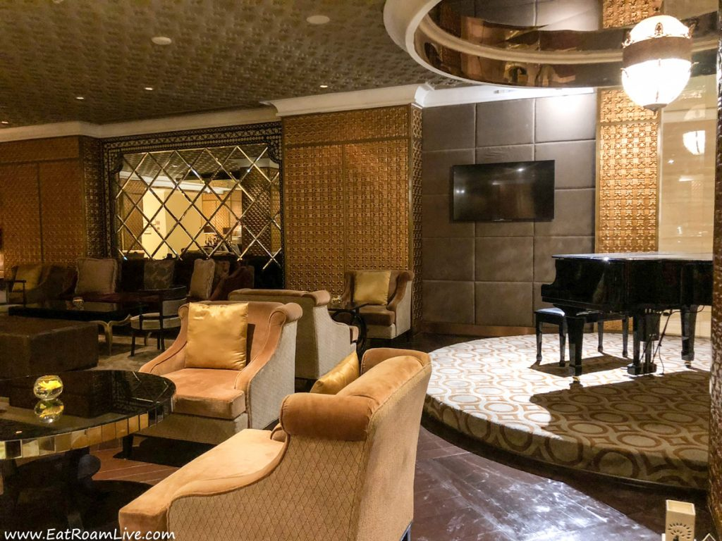 Residency Lounge at ITC Grand Chola, Chennai India, Luxury Hotel