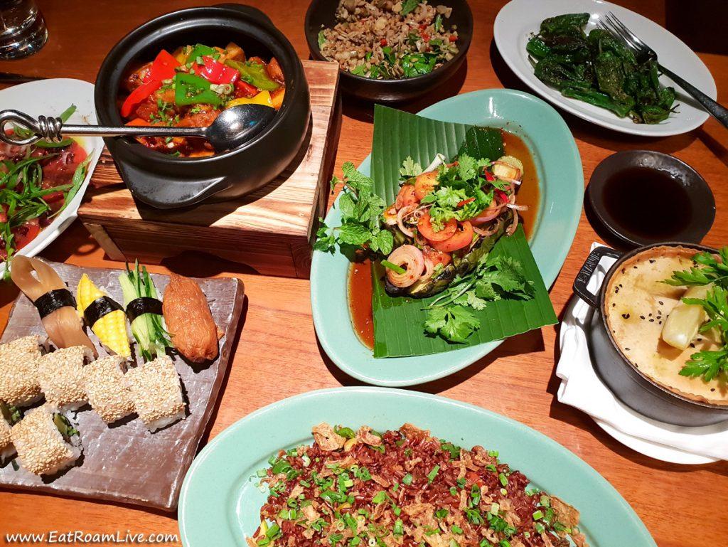 Vegetarian & Vegan Dining Review at Mezza9, Grand Hyatt, Singapore