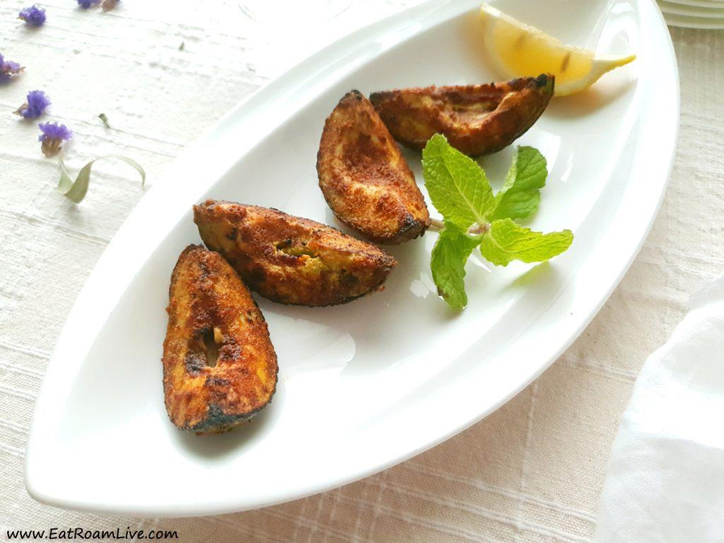 Bhatti Avocado - Vegetarian Vegan Menu at Yantra