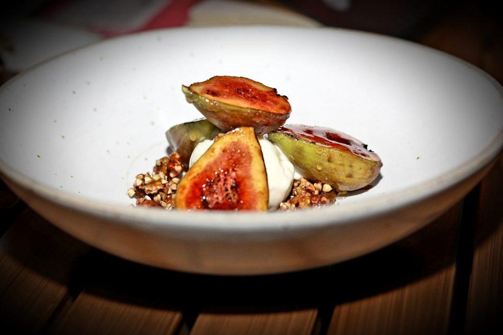 Carmelized figs