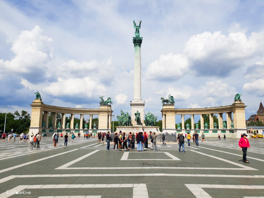 Heroes' Square, Budapest with Kids (Itinerary & Things to Do)