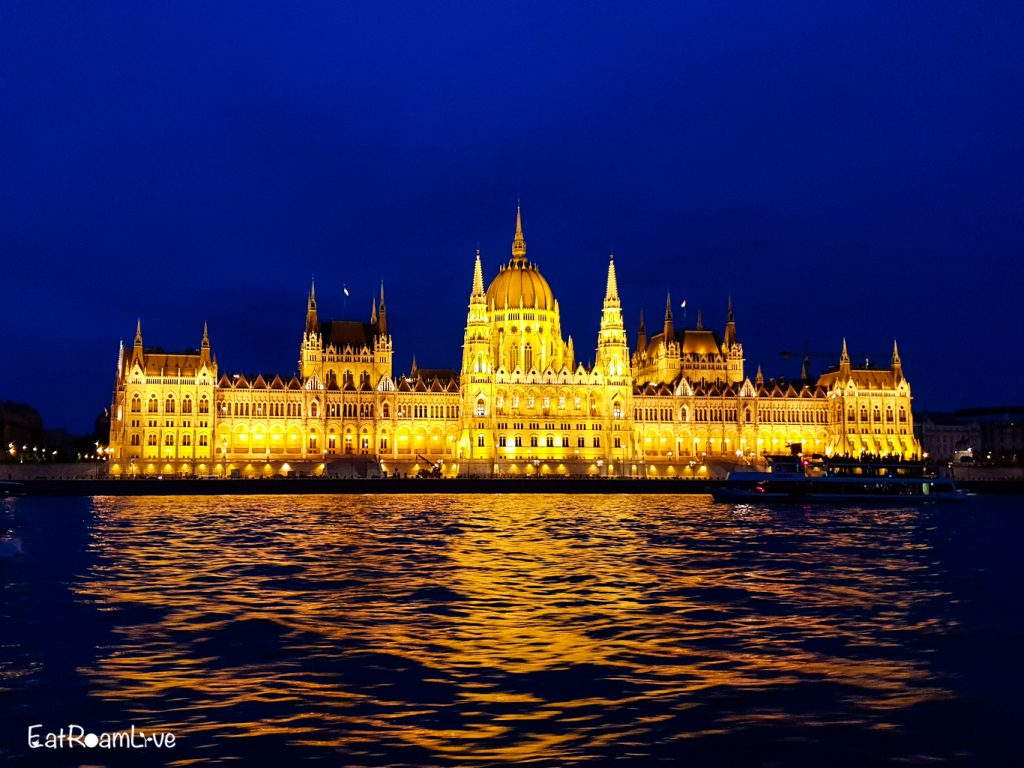 View of the Parliament Building from the Danube River Cruise, Budapest with Kids (Itinerary & Things to Do)