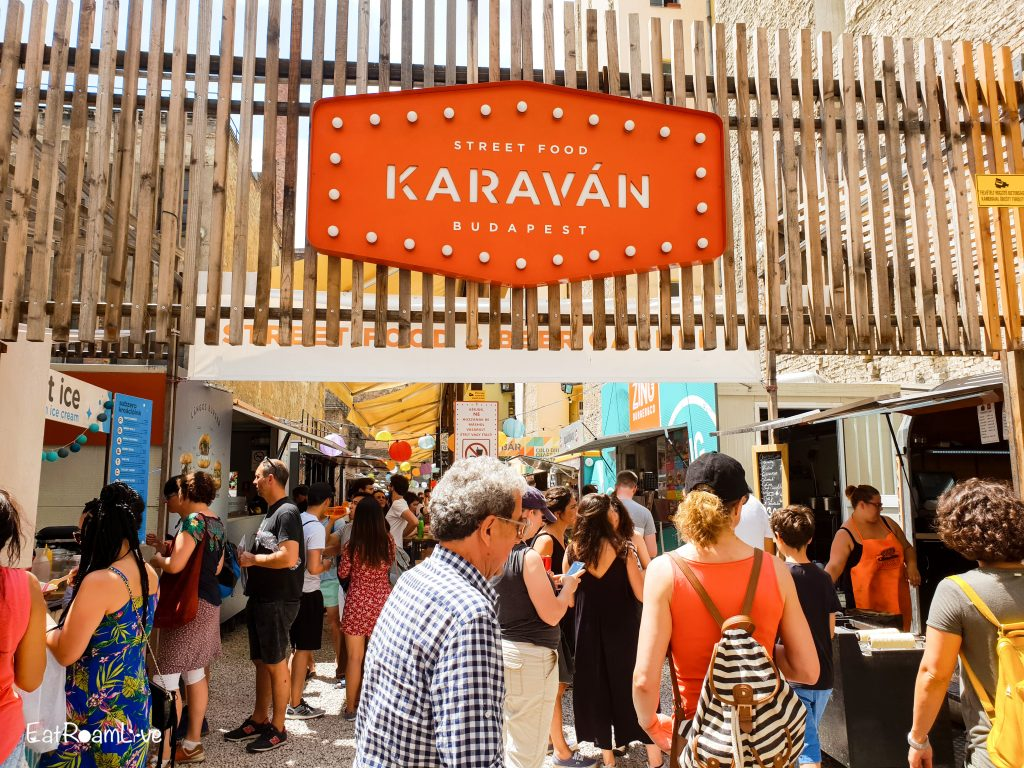 Streetfood at Karavan, Budapest with Kids (Itinerary & Things to Do)
