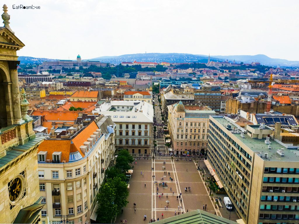 Enjoy sprawling 360° views of Budapest from the Dome of St. Stephen's Basilica, Budapest