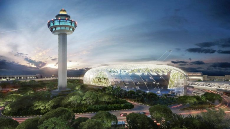 Jewel Changi Airport finally opens its doors.