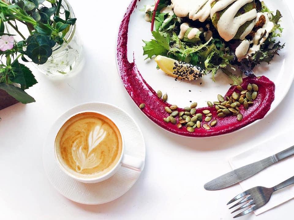 Green Falafel Bowl at Carrosticks & Cravings. Vegetarian Friendly Cafes in Singapore