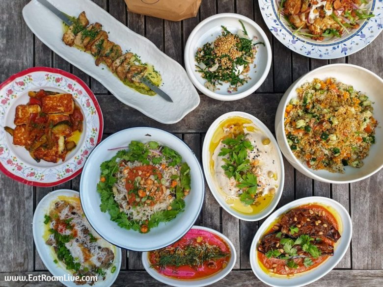 Vegetarian Vegan Middle Eastern Food at Artichoke Singapore