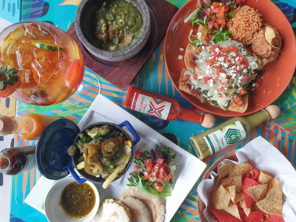 La Salsa Latin American Vegetarian Vegan Dining at Dempsey