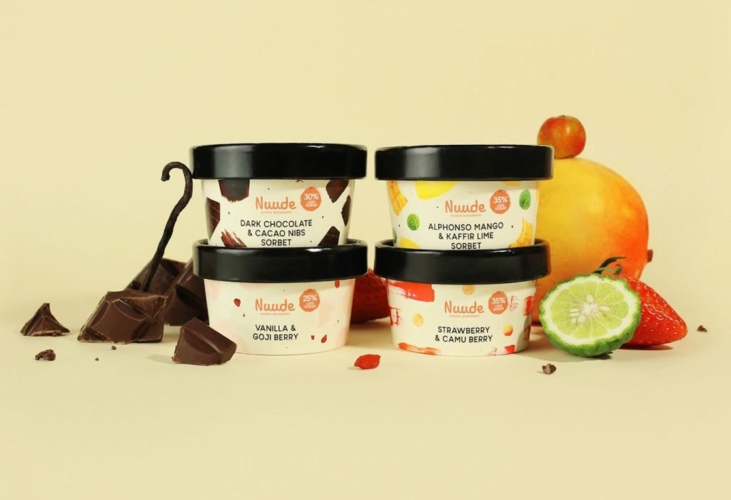 Nuude Vegan Dairy-free Ice Creams in Singapore